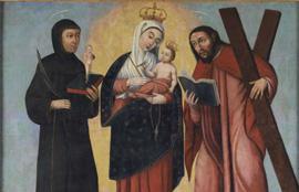 Durante dos meses Nuestra Señora de Chiquinquirá estará en el Corral